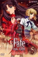 Poster anime Fate/stay nightSub Indo