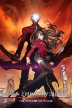Poster anime Fate/stay night Movie: Unlimited Blade Works Sub Indo