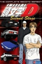 Poster anime Initial D Second Stage Sub Indo