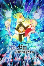 Poster anime Re:Zero kara Hajimeru Isekai Seikatsu 2nd Season Part 2 Sub Indo